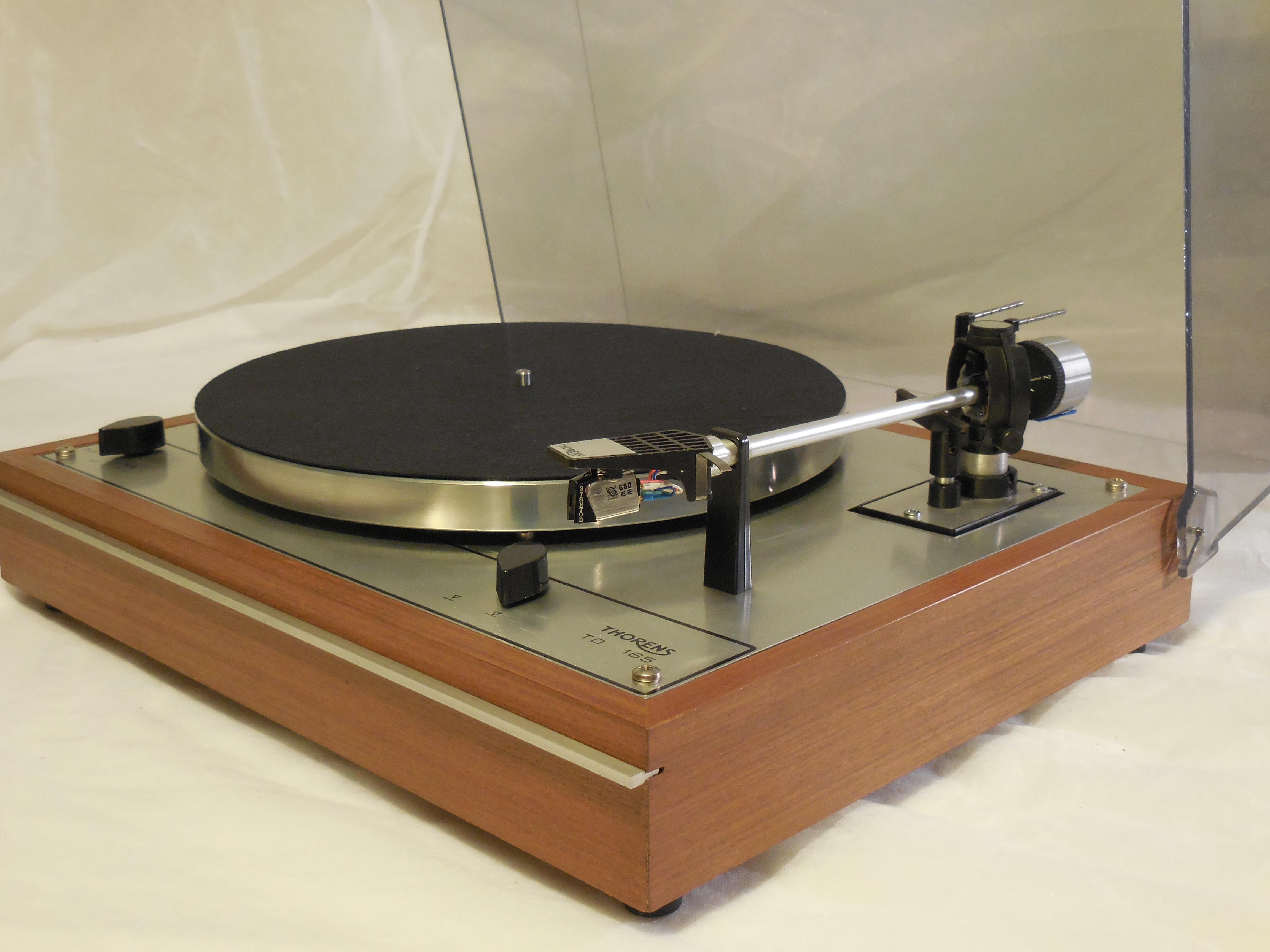 Starter Package Vintage Thorens Td 165 Turntable W Used