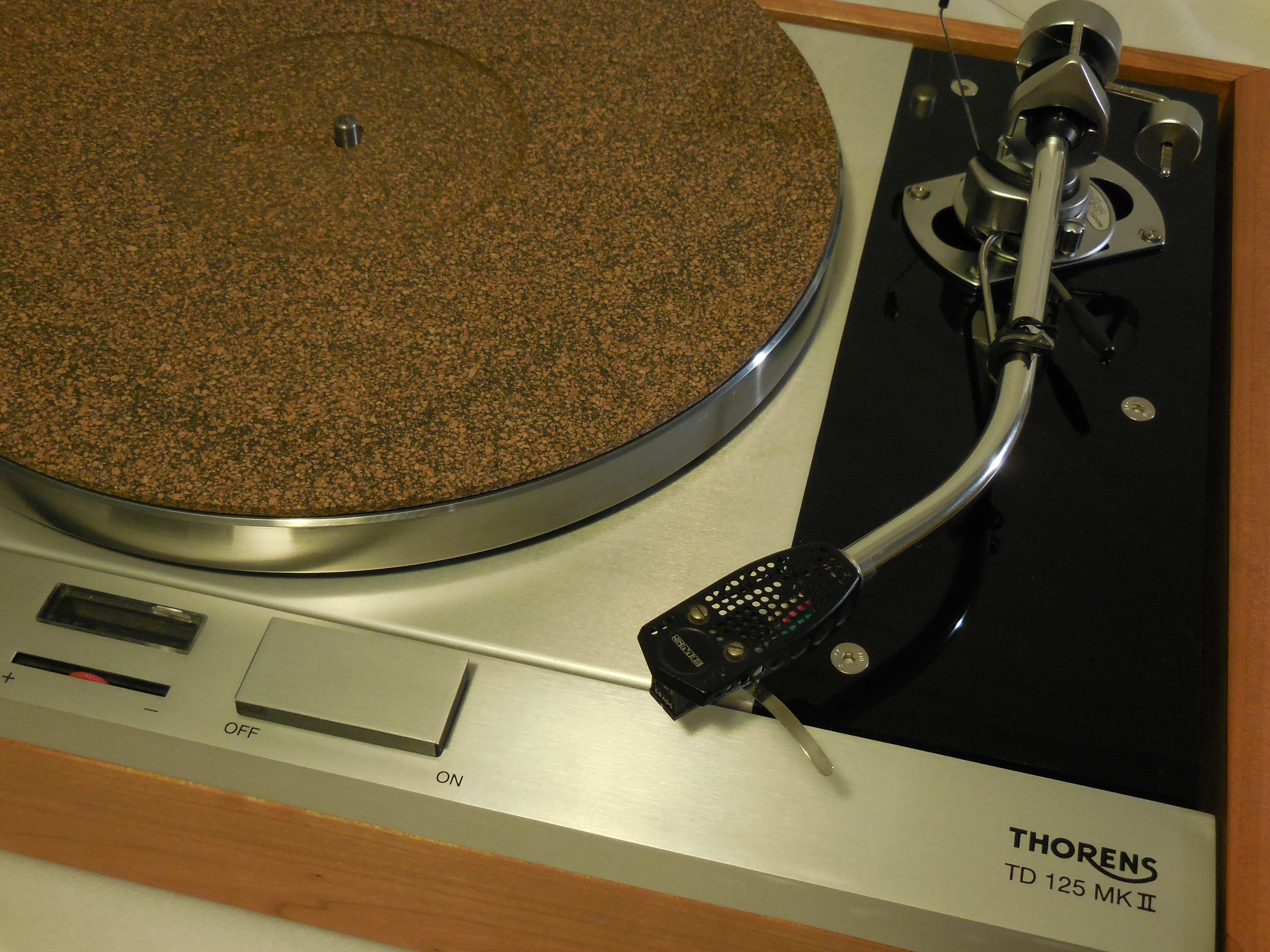 The Master Thorens Td 125 Mkii W Rewired Sme 3009 Arm