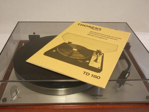 Original Thorens Manual for this model available for $25