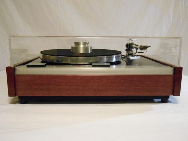 The Master!  Thorens TD-125 w/new SME M2-9 Arm & Custom Purpleheart Plinth 10