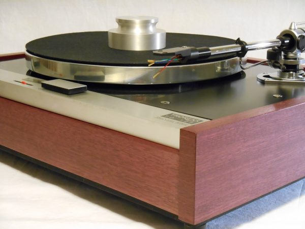 The Master!  Thorens TD-125 w/new SME M2-9 Arm & Custom Purpleheart Plinth_02