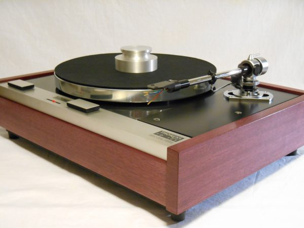 The Master!  Thorens TD-125 w/new SME M2-9 Arm & Custom Purpleheart Plinth 07