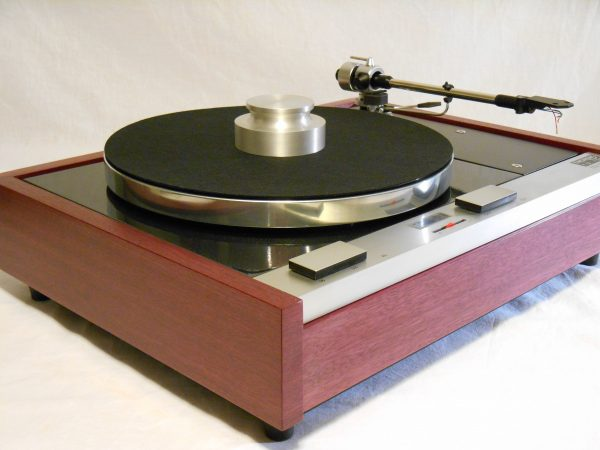 The Master!  Thorens TD-125 w/new SME M2-9 Arm & Custom Purpleheart Plinth_01