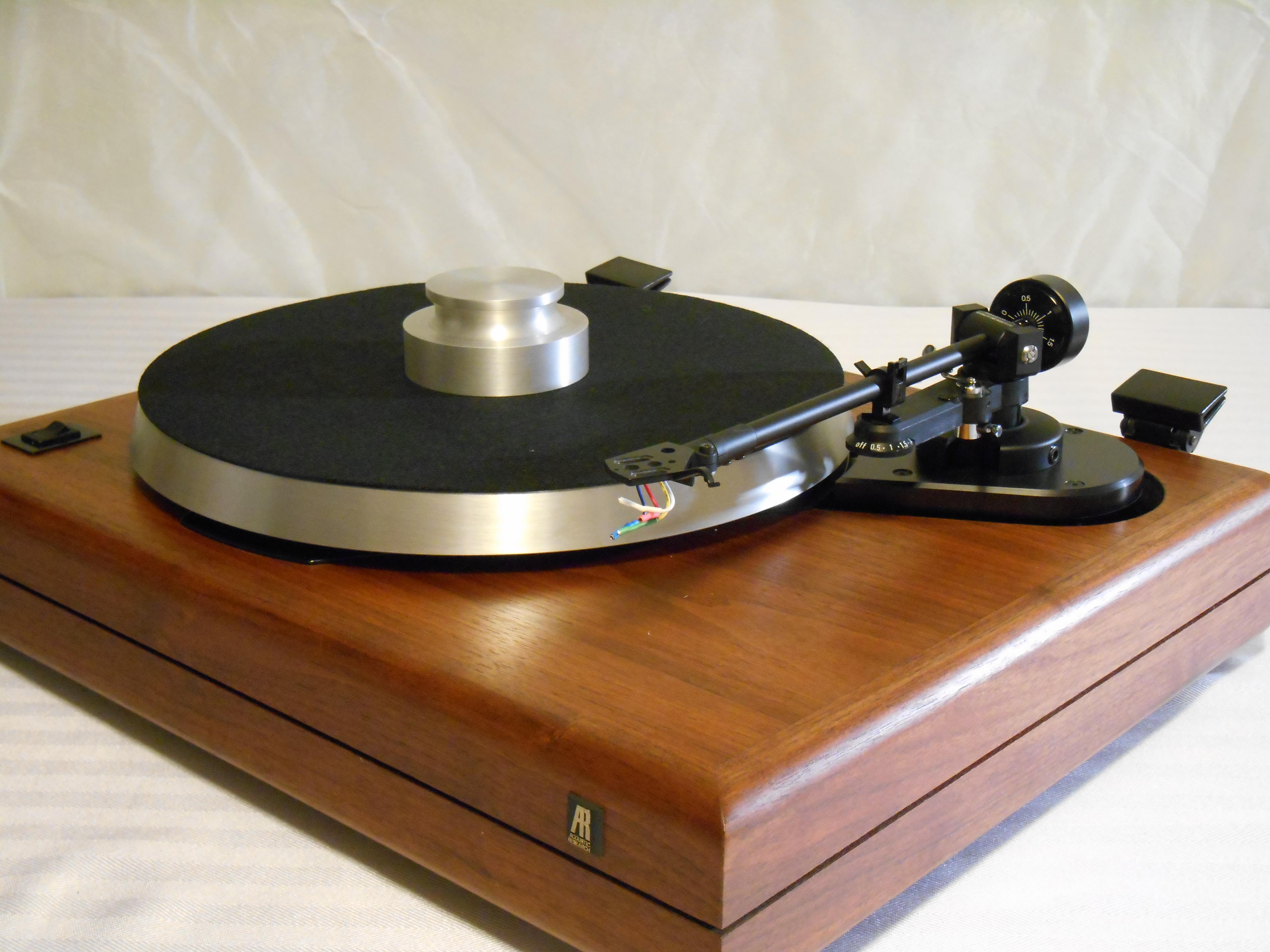 AR the Turntable w/Linn Basik - Vinyl Nirvana - Vintage AR