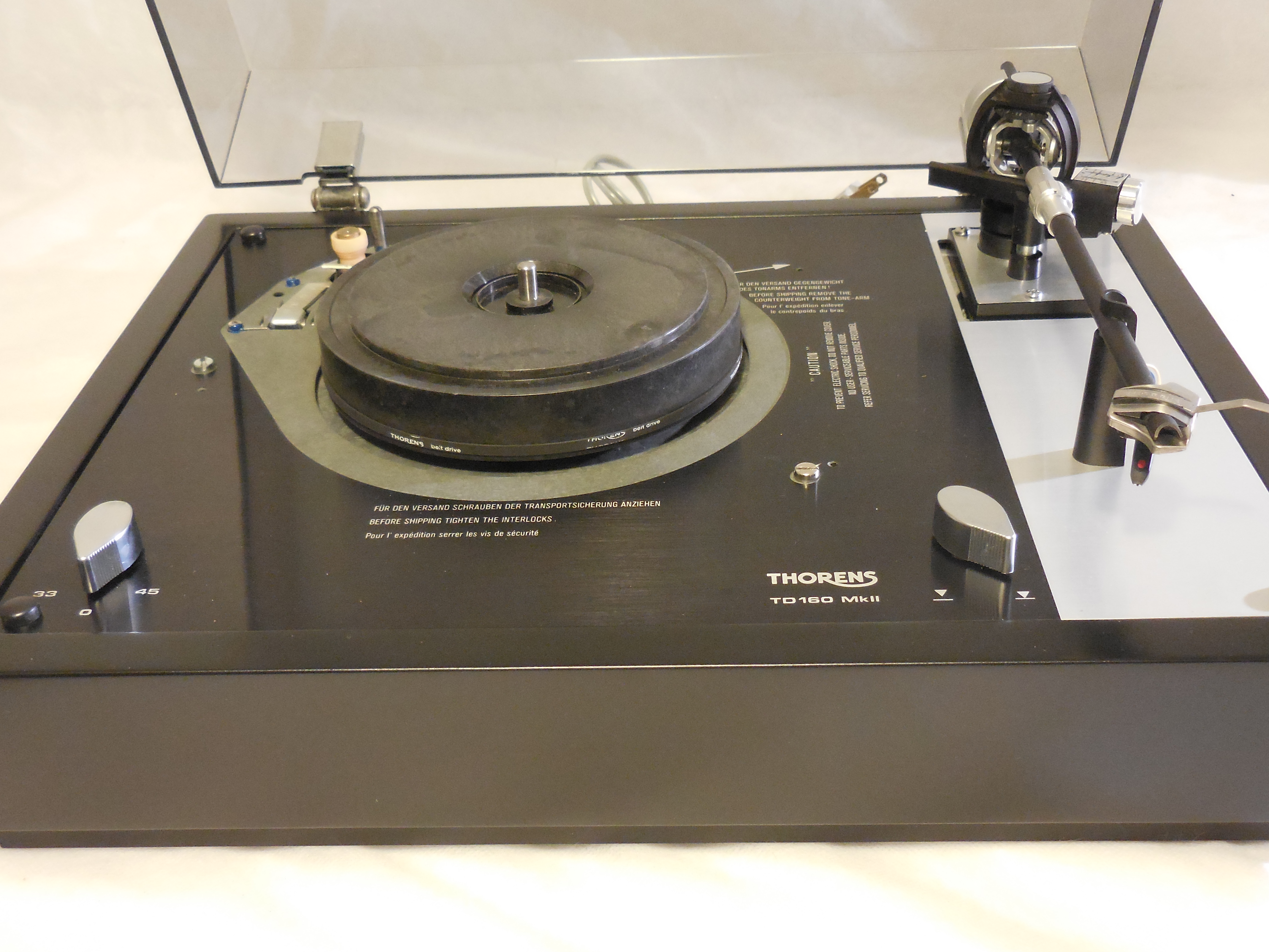 Custom Thorens Td 160 Mkii Vinyl Nirvana Vintage Ar
