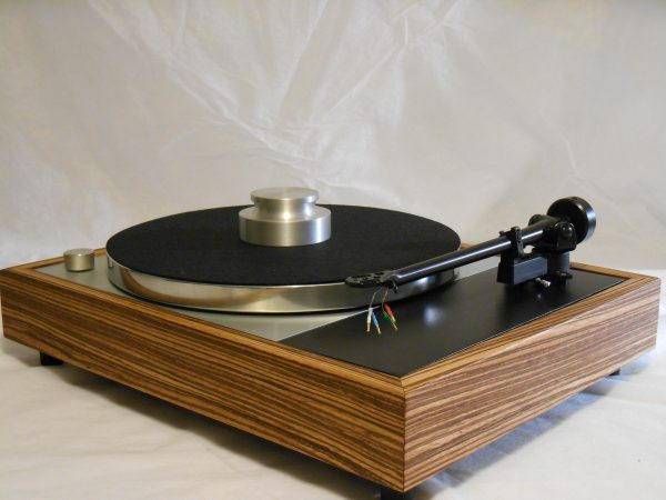Vinyl Nirvana's VN-150! A Transformed Thorens TD-150 in custom Zebrawood plinth, Upgraded Rega (Moth) RB-202 Tonearm, Music Hall Cruise Control_02