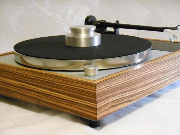Vinyl Nirvana's VN-150! A Transformed Thorens TD-150 in custom Zebrawood plinth, Upgraded Rega (Moth) RB-202 Tonearm, Music Hall Cruise Control_04