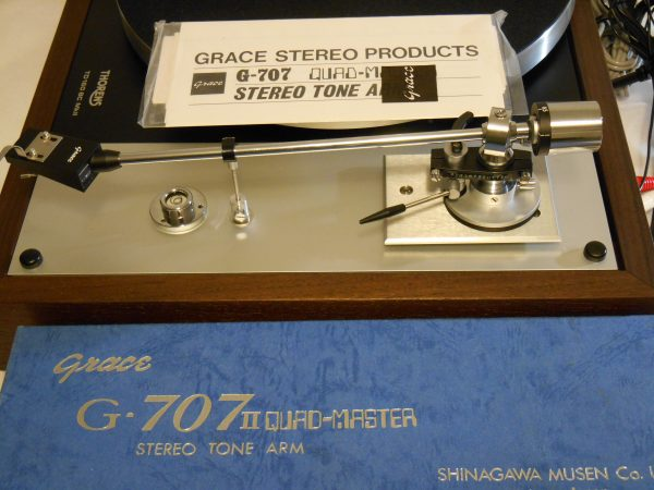 The Grace 707 is new old stock, never mounted before!