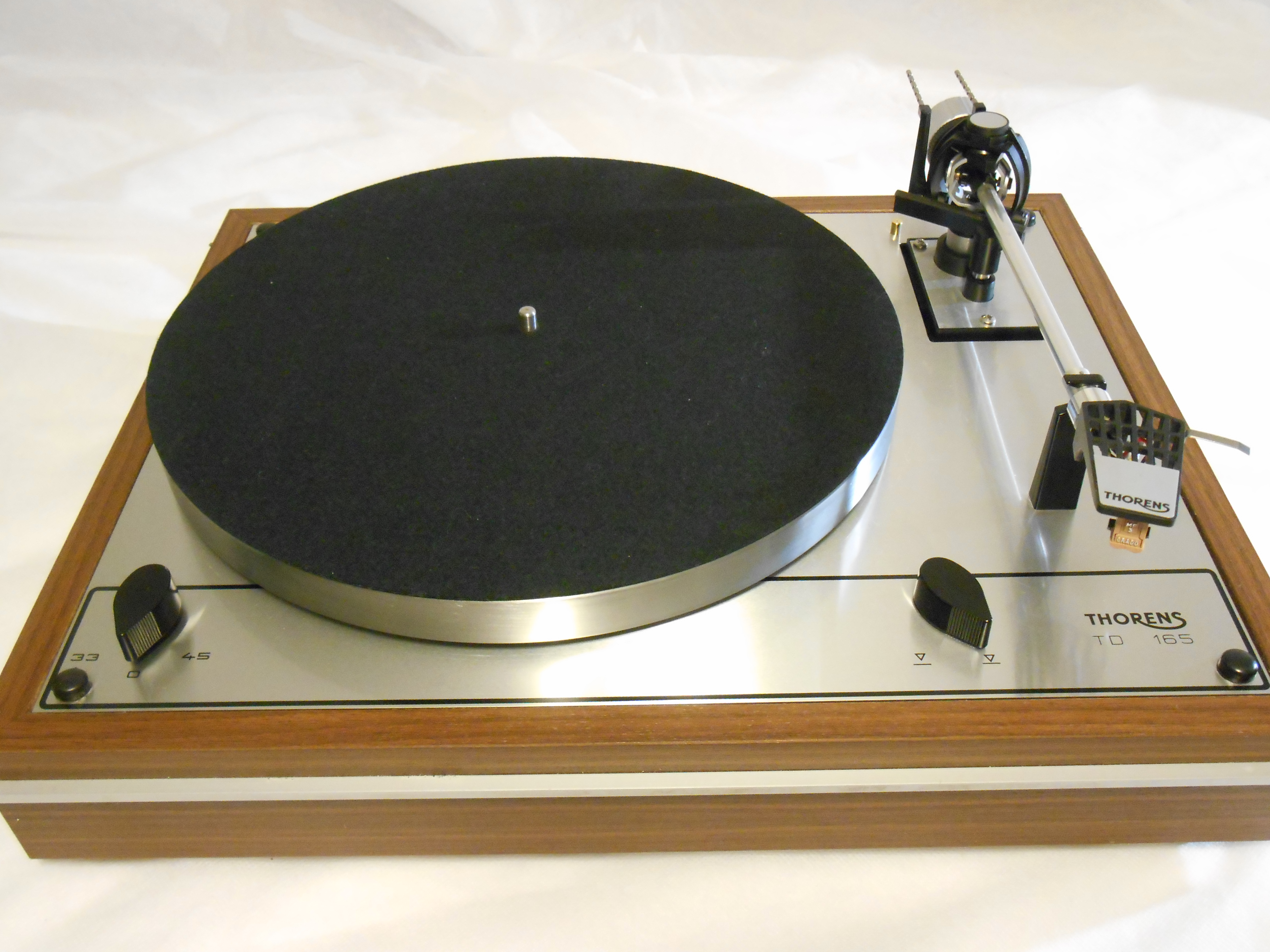 Starter Package Thorens Td 165 With Cartridge Ar