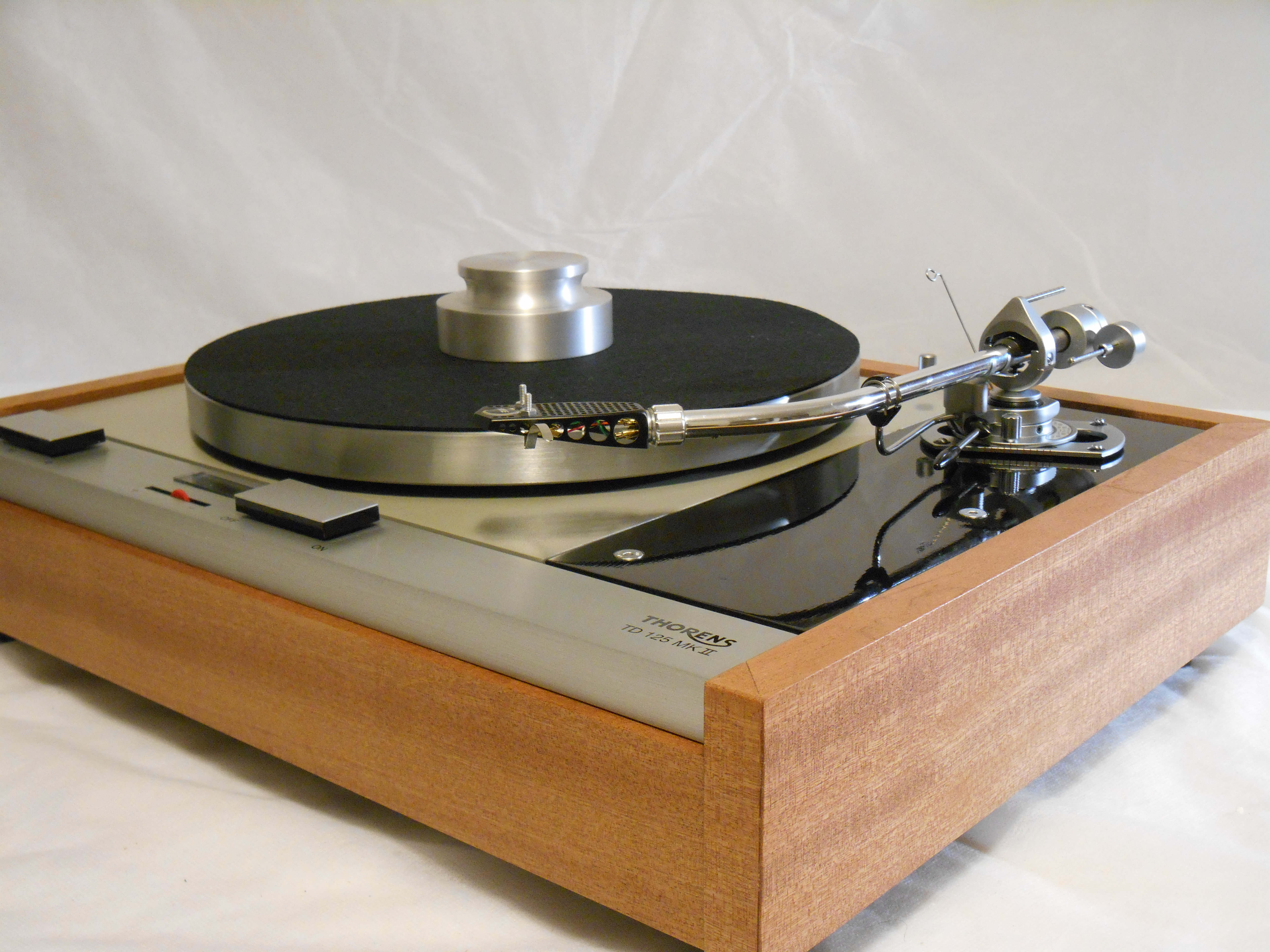 Thorens td 125 Mkii Turntable For Sale Thorens Td-125 Mkii W/rewired