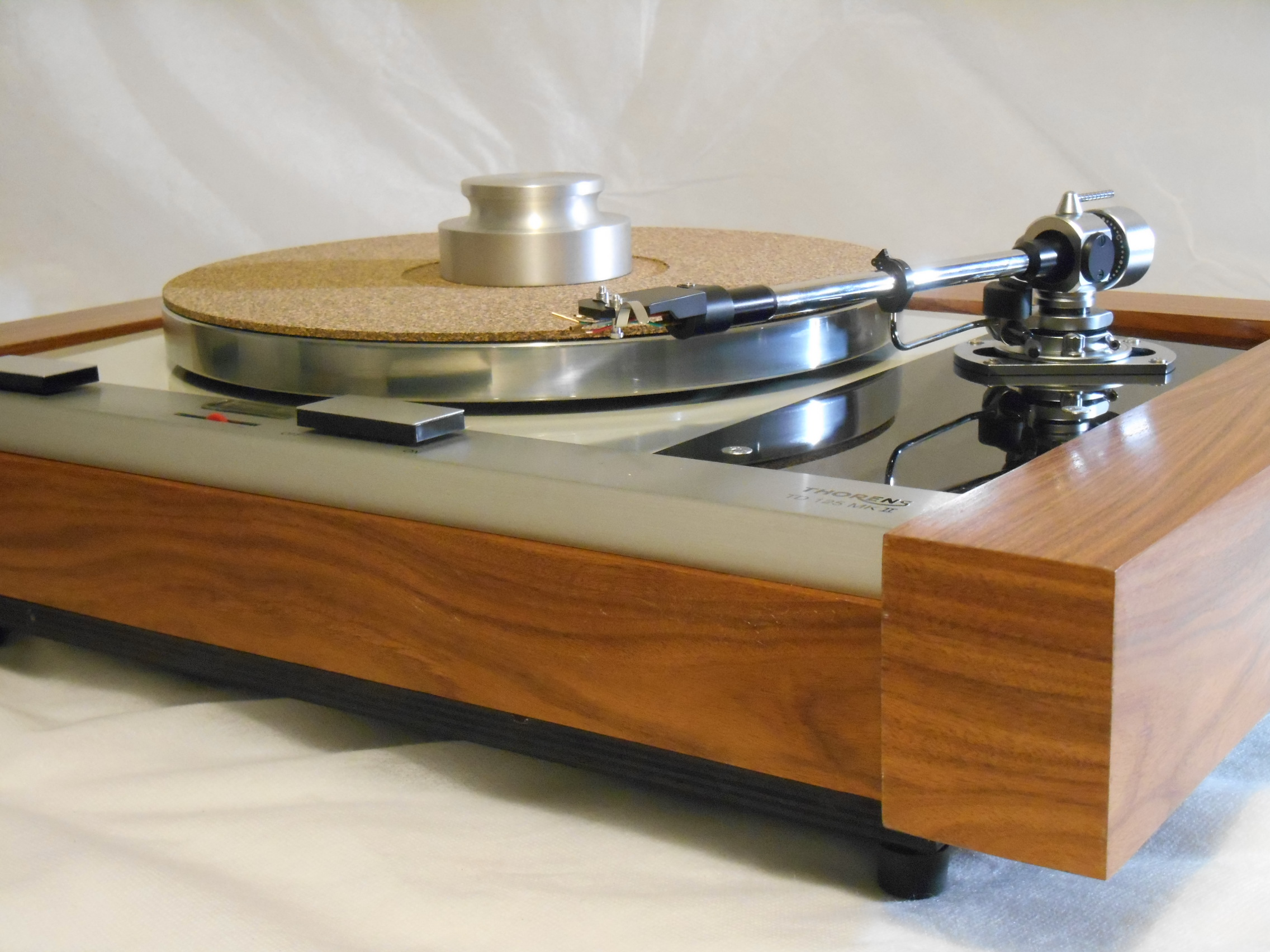 The Master Thorens Td 125 Mkii W Sme M2 9 Arm Amp Custom