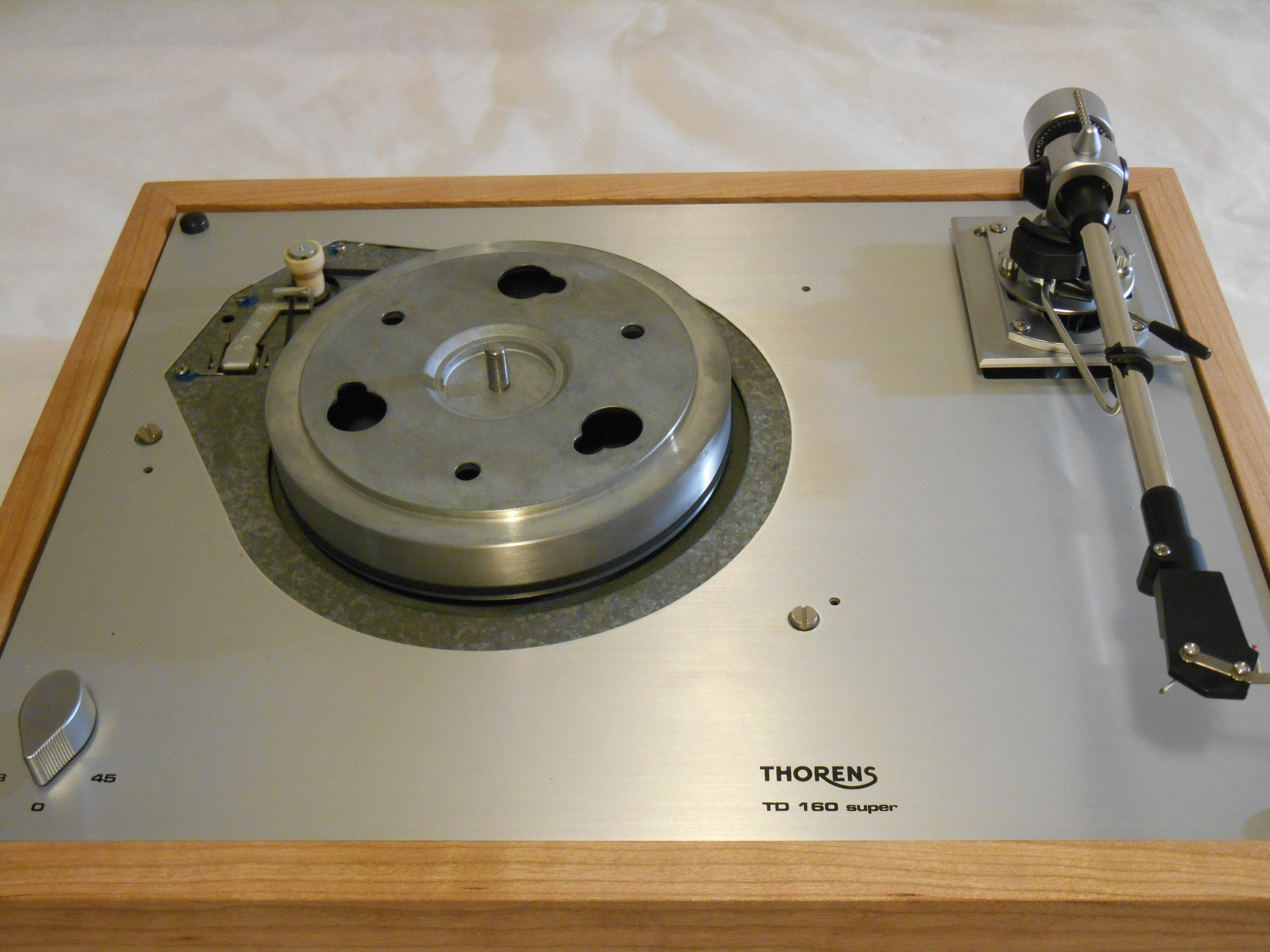 Thorens Td 160 Super Reproduction New Sme M2 9 Arm