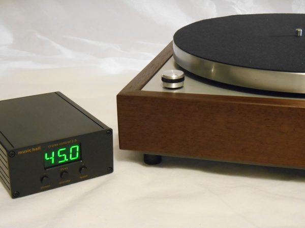 Vinyl Nirvana's VN-150! A Transformed Thorens TD-150 in custom Cherry plinth, Upgraded Rega (Moth) RB-202 Tonearm, Music Hall Cruise Control 09