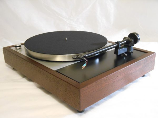 Vinyl Nirvana's VN-150! A Transformed Thorens TD-150 in custom Cherry plinth, Upgraded Rega (Moth) RB-202 Tonearm, Music Hall Cruise Control 01