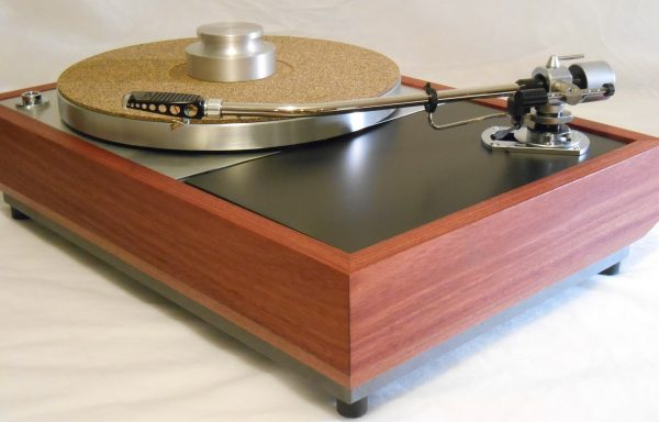 "The VN-150 Long Base! A transformed Thorens TD-150 w/ 12"" SME M2-12R arm, Origin Live DC Motor, and Santos Mahogany Plinth 01"