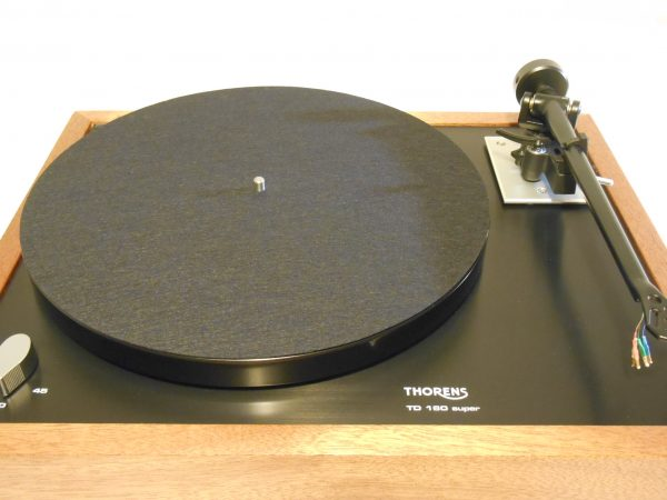 Thorens TD-160 Super Reproduction, Midnight Edition (ME), Upgraded Rega (Moth) RB-202 arm, Sipo Plinth 06