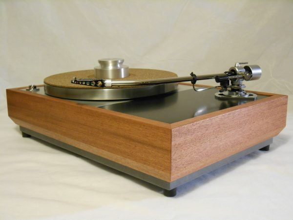 "The VN-150 Long Base! A transformed Thorens TD-150 w/ 12"" SME M2-12r arm, Origin Live DC Motor, and Santos Mahogany Plinth 02"