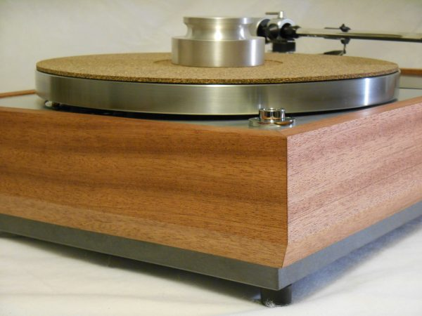 "The VN-150 Long Base! A transformed Thorens TD-150 w/ 12"" SME M2-12r arm, Origin Live DC Motor, and Santos Mahogany Plinth 06"
