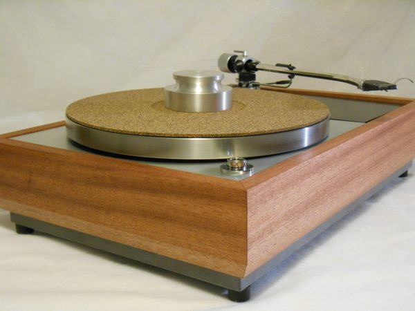 "The VN-150 Long Base! A transformed Thorens TD-150 w/ 12"" SME M2-12r arm, Origin Live DC Motor, and Santos Mahogany Plinth 03"