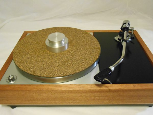 "The VN-150 Long Base! A transformed Thorens TD-150 w/ 12"" SME M2-12r arm, Origin Live DC Motor, and Santos Mahogany Plinth 07"
