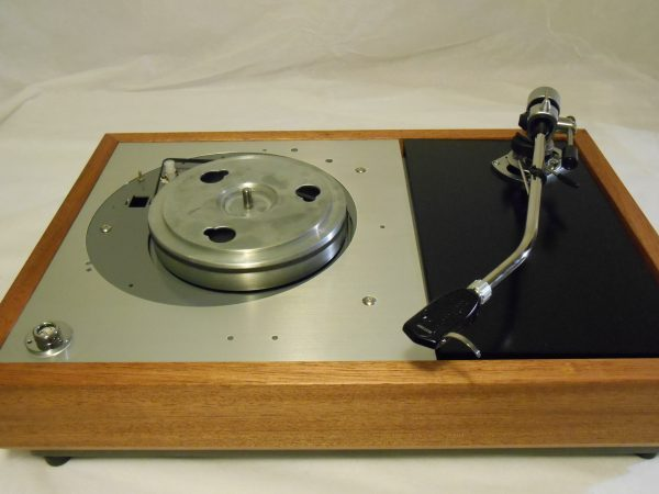 "The VN-150 Long Base! A transformed Thorens TD-150 w/ 12"" SME M2-12r arm, Origin Live DC Motor, and Santos Mahogany Plinth 08"