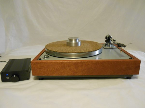 Thorens TD-160 Super Reproduction, new SME M2-9 arm, custom Bubinga plinth, Origin Live Ultra Motor 02