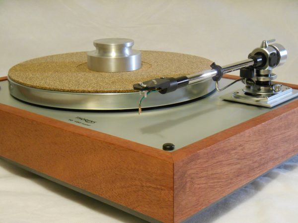 Thorens TD-160 Super Reproduction, new SME M2-9 arm, custom Bubinga plinth, Origin Live Ultra Motor 03