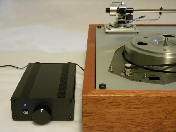 Thorens TD-160 Super Reproduction, new SME M2-9 arm, custom Bubinga plinth, Origin Live Ultra Motor 06