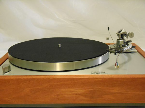 Thorens TD-160 Super Reproduction in Solid Santos Mahogany w/SME 3009 Tonearm 03