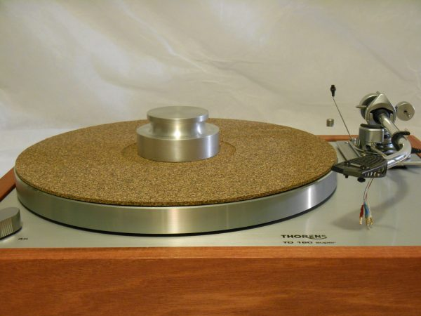 Bren record weight and cork-rubber composite mat add $125