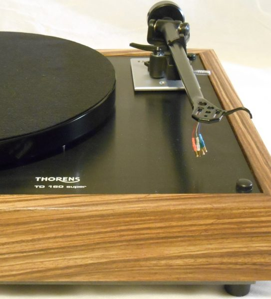 thorens td-160 super reproduction rb-202 zebrawood midnight edition 03