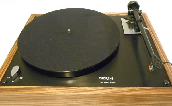 thorens td-160 super reproduction rb-202 zebrawood midnight edition 05