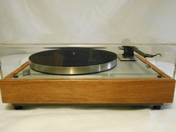 Thorens TD-160 Super Reproduction, Upgraded Rega (Moth) RB-202 arm, Brazilian cherry 02