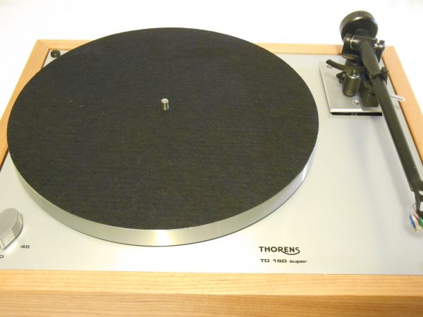 Thorens TD-160 Super Reproduction, Upgraded Rega (Moth) RB-202 arm, Cherry Plinth 05