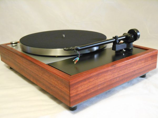 Vinyl Nirvana's VN-150! A Transformed Thorens TD-150 in custom Padauk plinth, Upgraded Rega (Moth) RB-202 Tonearm, Music Hall Cruise Control, Dynavector 10X5 Cartridge 06