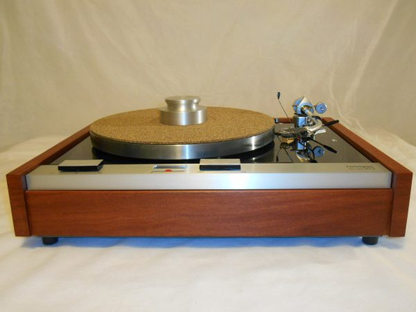 The Master!  Thorens TD-125 MKII w/rewired SME 3009 Arm & Custom Sapele Plinth, Extras 04