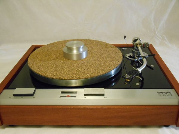 Bren record weight and cork-rubber composite mat included!
