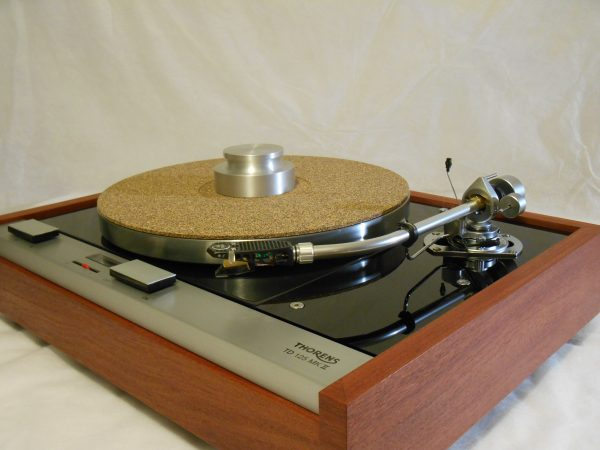 The Master!  Thorens TD-125 MKII w/rewired SME 3009 Arm & Custom Sapele Plinth, Extras 05