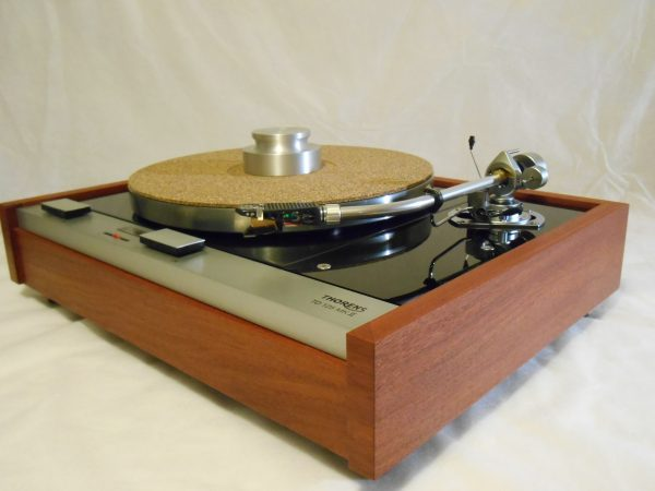 The Master!  Thorens TD-125 MKII w/rewired SME 3009 Arm & Custom Sapele Plinth, Extras 06