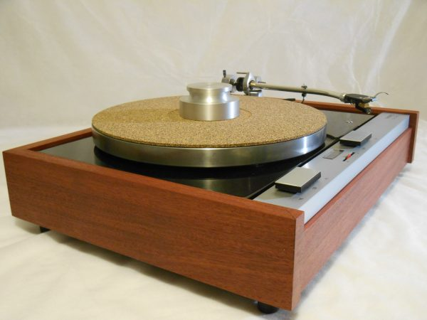 The Master!  Thorens TD-125 MKII w/rewired SME 3009 Arm & Custom Sapele Plinth, Extras 07
