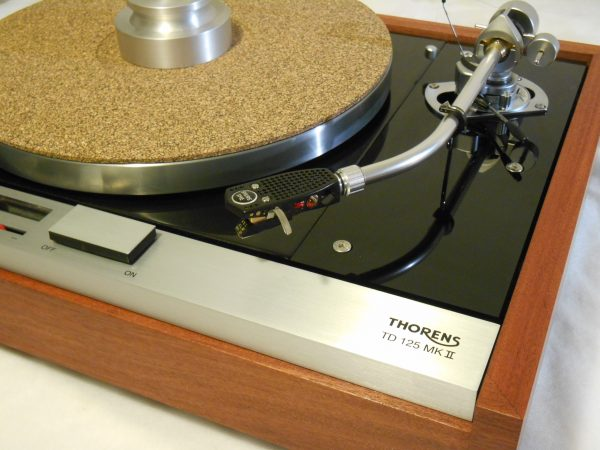 The Master!  Thorens TD-125 MKII w/rewired SME 3009 Arm & Custom Sapele Plinth, Extras 01
