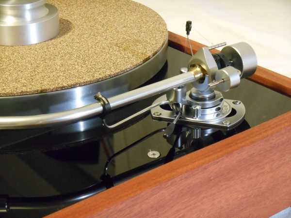 The Master!  Thorens TD-125 MKII w/rewired SME 3009 Arm & Custom Sapele Plinth, Extras 03