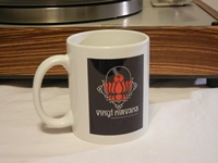 Vinyl Nirvana Coffee Mug for AR Turntable